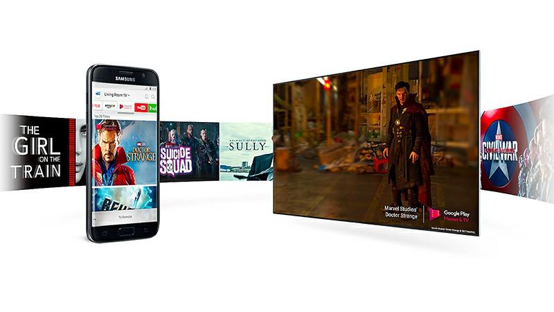 Điều khiển, chia sẻ nội dung từ điện thoại lên Smart Tivi bằng ứng dụng Smart View