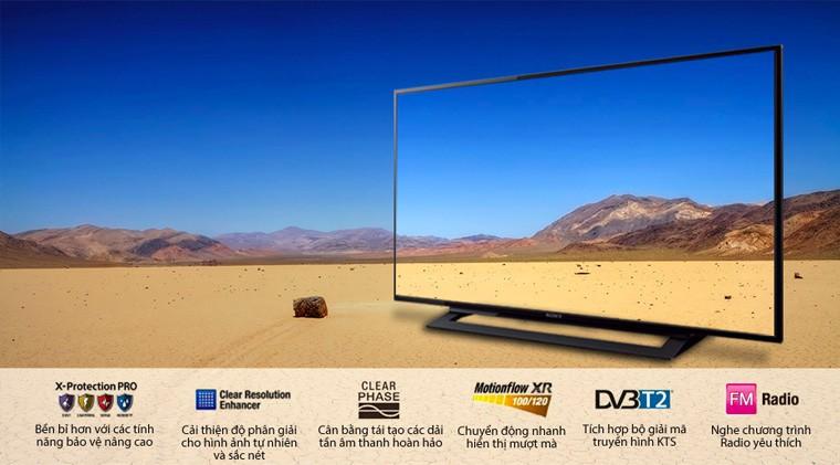 Tivi Sony nhiều tính năng giải trí