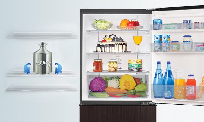 Tủ lạnh Aqua Inverter 335 lít AQR-IP350DB DC