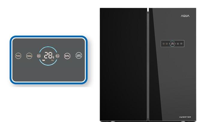Tủ lạnh Aqua AQR-IG595AM GB 547 lít, InverterTủ lạnh Aqua AQR-IG595AM GB 547 lít, Inverter