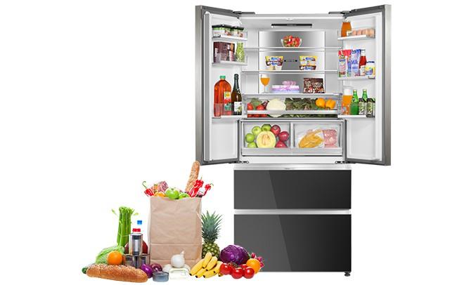 Tủ lạnh Aqua Inverter 592 lít AQR-IG656AM GB