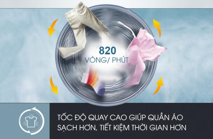 Máy giặt Aqua AQW-F800BT N 8 kg