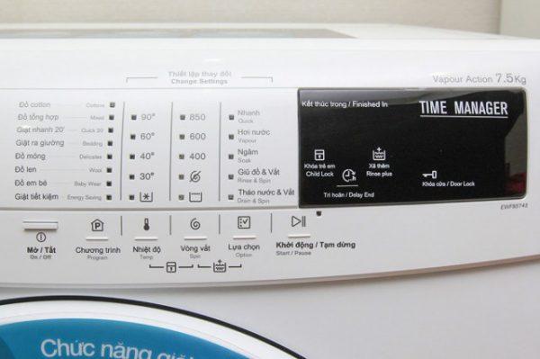 Máy giặt Electrolux EWF85743 7.5 kg