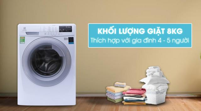 Máy giặt Electrolux EWF10844 Inverter 8 kg