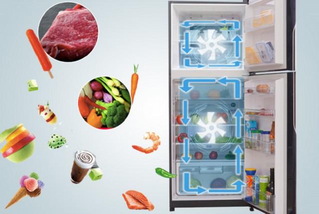 Tủ lạnh Hitachi 395 lít R-VG470PGV3