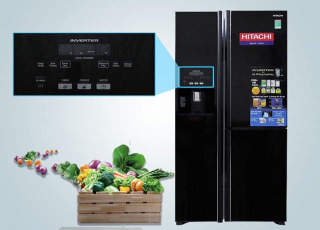 Tủ lạnh Hitachi 584 lít R-M700GPGV2