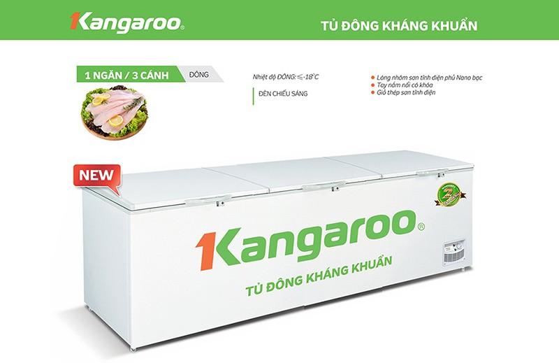 Tủ đông Kangaroo 1400 lít KG1400A1