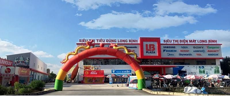 Siêu thị Long Bình Plaza - Cầu Dừa - Thường Tín - Hà Nội