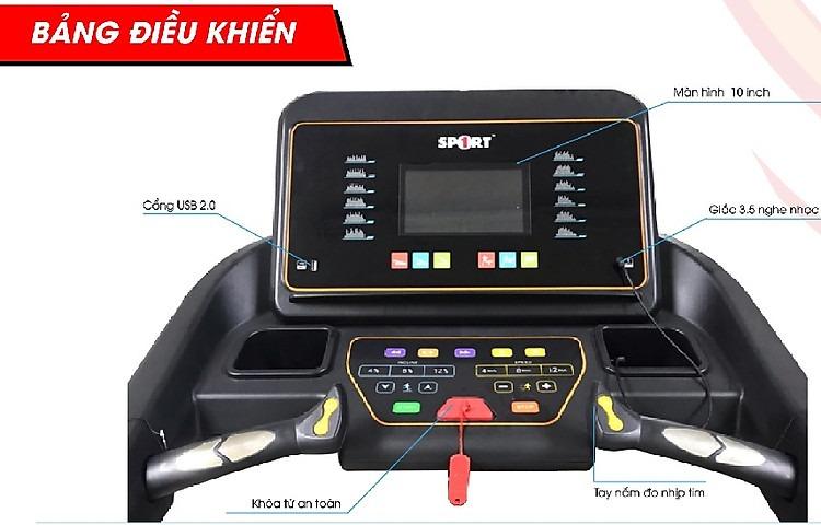 Máy chạy bộ đa chức năng DK-006 máy chạy bộ
