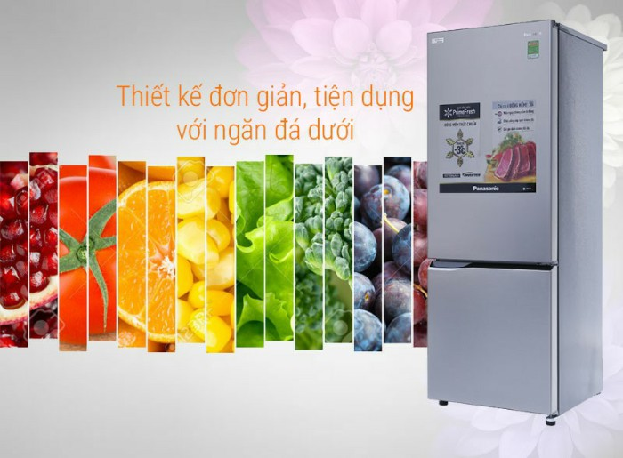 Tủ lạnh Panasonic 290 lít NR-BV329QSVN