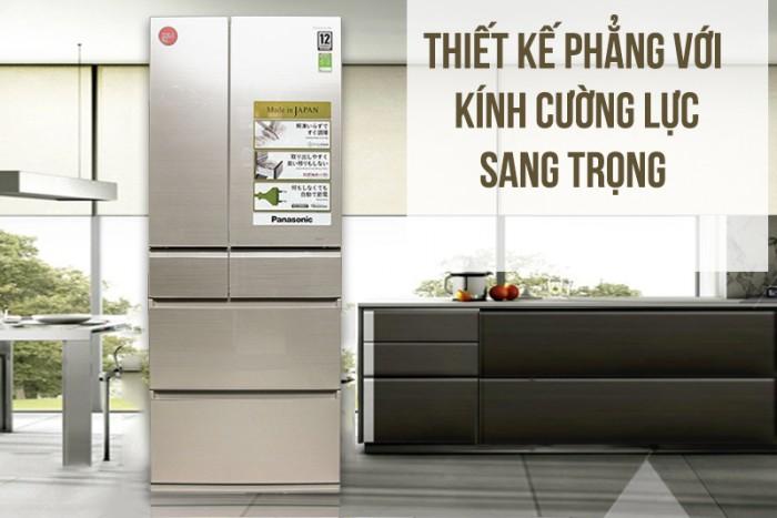 Tủ lạnh Panasonic 588 lít NR-F610GT-N2