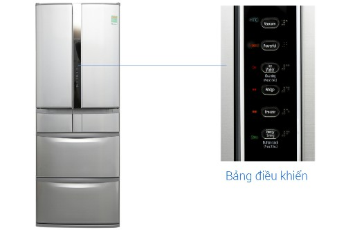 Tủ lạnh Hitachi Inverter 4Tủ lạnh Hitachi Inverter 497 lít SF48EMV SH97 lít SF48EMV SH