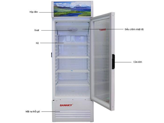 Tủ mát Sanaky 200 LÍT VH-258K