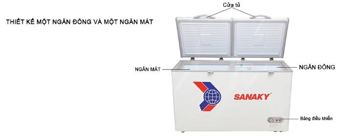 Tủ đông Sanaky VH-5699W1 365 lít