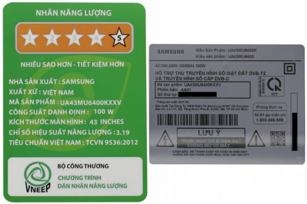 Smart Tivi Samsung 43 inch UA43MU6400