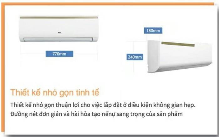 Điều hòa TCL RVSC09KEI 1 chiều, 1 HP, Inverter