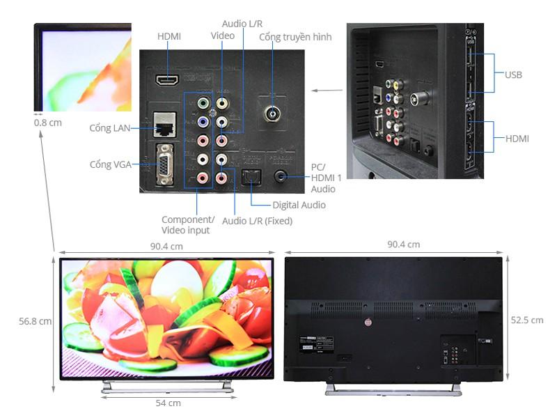 Tivi Toshiba 40 inch 40L5550