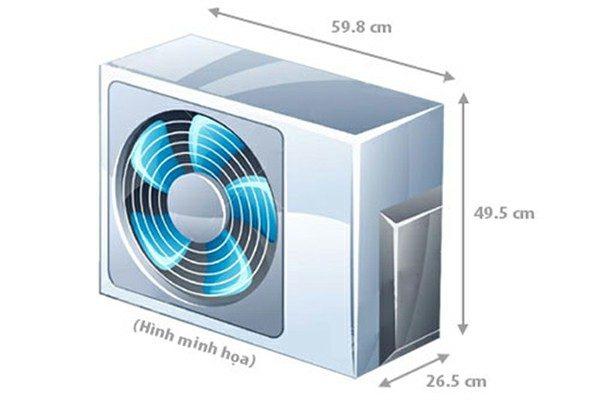 Điều hòa Sharp AH-X9STW 1 chiều, 1 HP, Inverter
