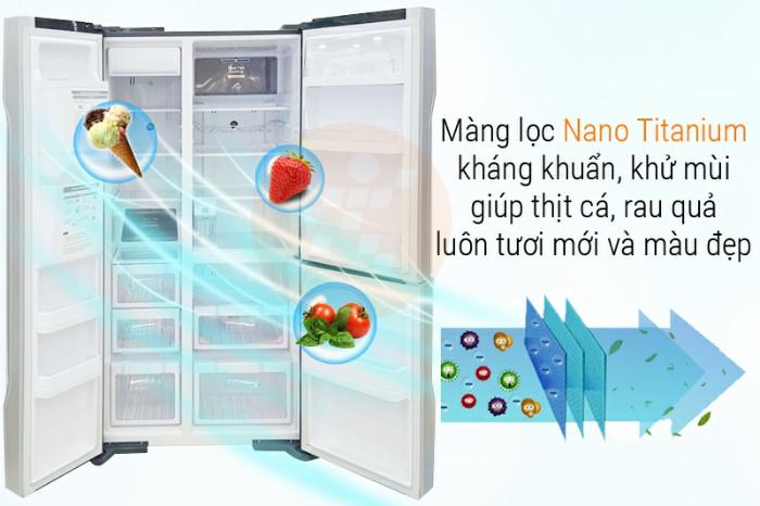 Công nghệ kháng khuẩn, khử mùi trên tủ lạnh Hitachi