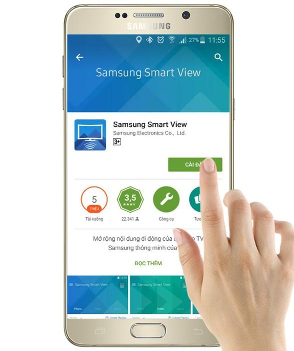 Điều khiển tivi bằng Smartphone thông minh