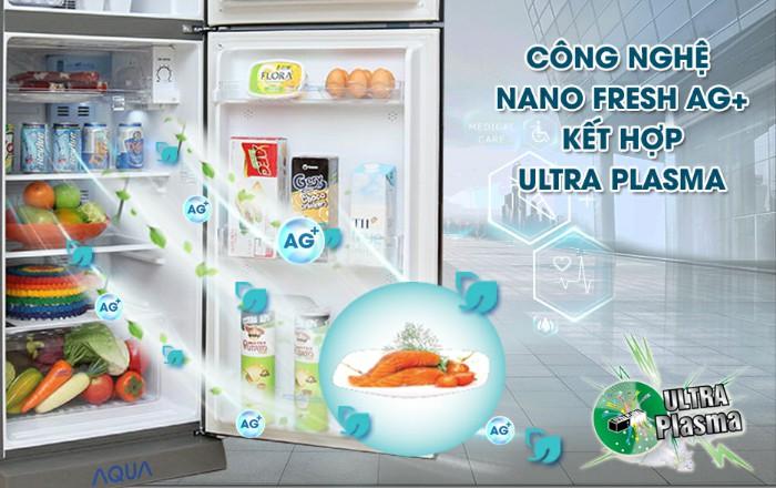 Công nghệ kháng khuẩn khử mùi Nano Fresh Ag+