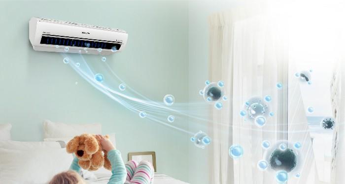 Công nghệ làm lạnh kháng khuẩn, khử mùi trên điều hòa Samsung