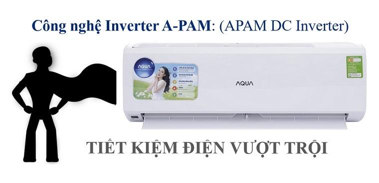 Điều hòa Aqua và ứng dụng công nghệ A-PAM DC Inverter