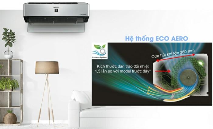 Hệ thống ECO AERO với khả năng tiết kiệm năng lượng