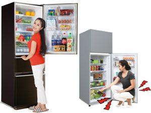 Tủ lạnh thiết kế ngăn đá dưới có thực sự tốt?