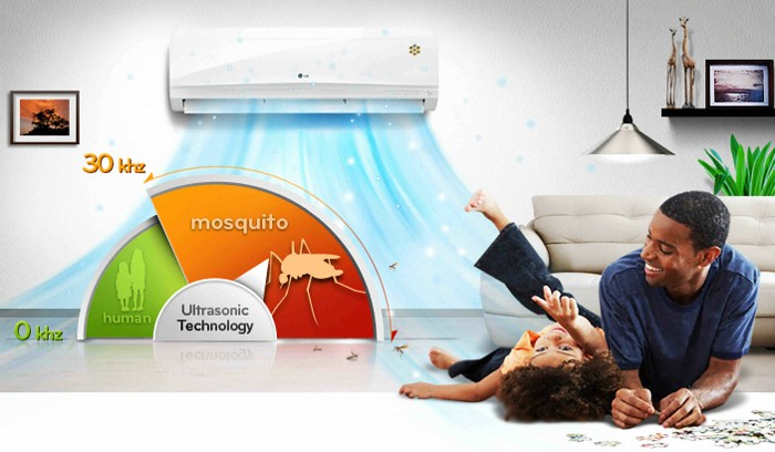 Công dụng của điều hòa chống muỗi hiệu quả