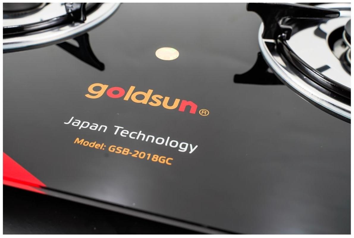 Bếp gas Goldsun GSB-2018GC họng inox