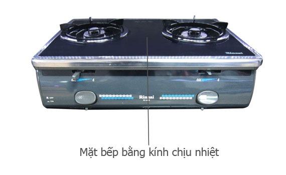 Bếp gas Rinnai RV-4600 (GL-T) mặt bếp