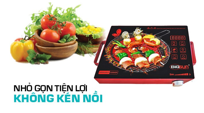 Bếp hồng ngoại Bigsun BIF-4TH công suất