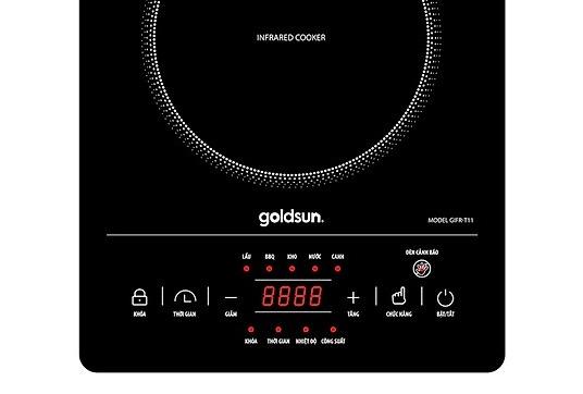 Bếp hồng ngoại Goldsun GIFR-T11 công suất mạnh