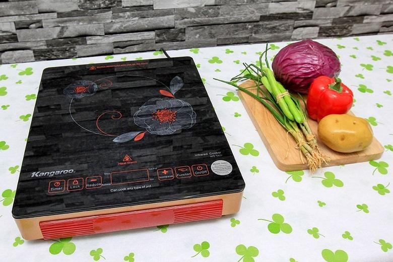 Bếp hồng ngoại Kangaroo KG385I thiết kế mới