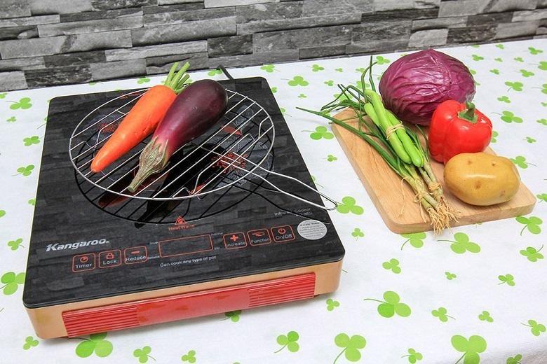 Bếp hồng ngoại Kangaroo KG385I thiết kê sang trọng