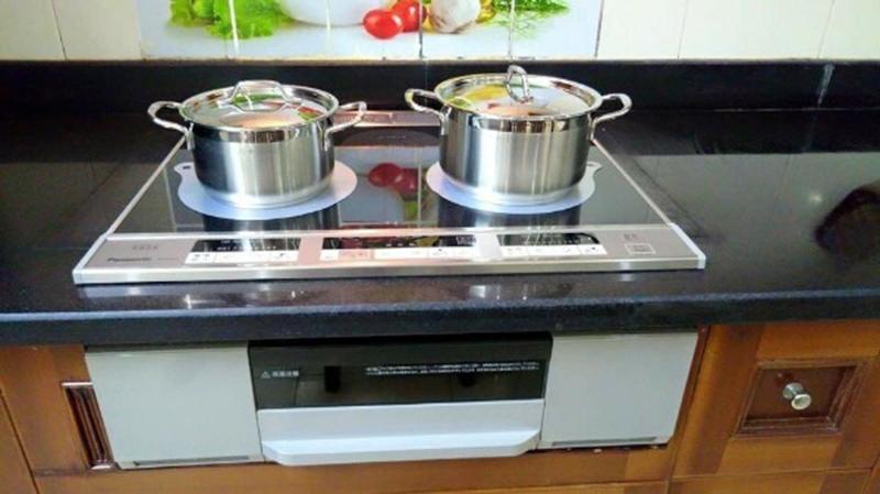 Bếp từ hồng ngoại Panasonic KZ-F32AS Tính năng an toàn