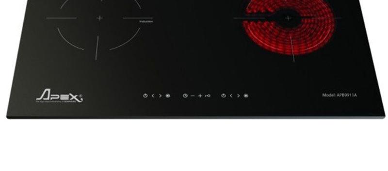 Bếp từ hồng ngoại Sunhouse Apex APB9911A Dễ dàng điều khiển