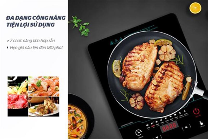 Bếp từ Sunhouse SHD6863 2200W Đa dạng công năng & tiện ích