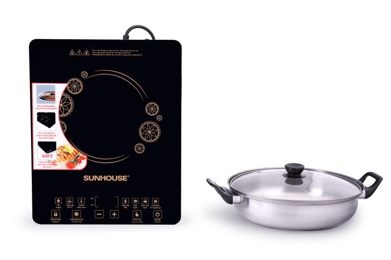 Bếp từ Sunhouse SHD6870 2000W Tỏa nhiệt nhanh