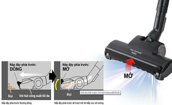 Máy hút bụi Panasonic MC-CG373RN46