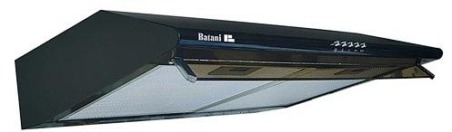 Máy hút mùi Batani BA-206BL  thiết kế
