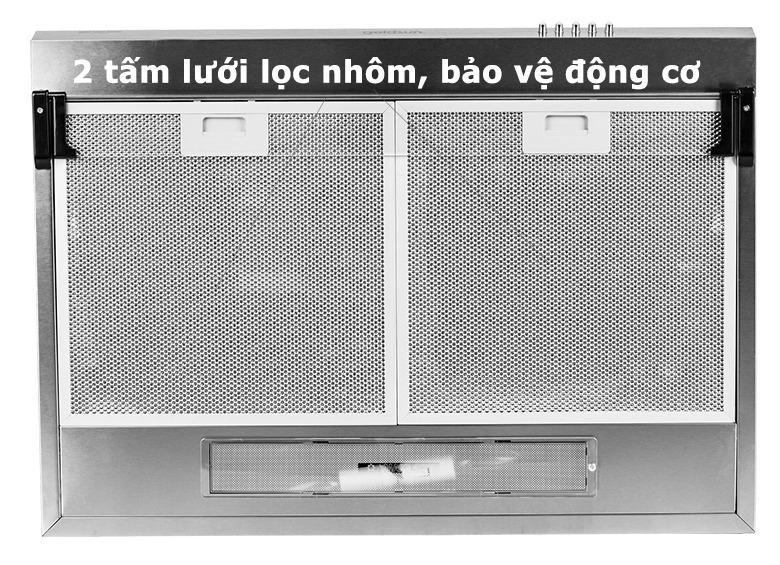 Máy hút mùi Goldsun GS-709I 2 tấm lưới lọc