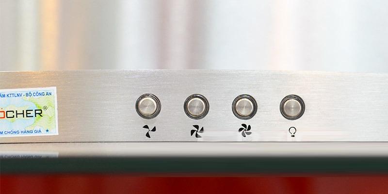 Máy hút mùi Kocher K-8970 3 tốc độ hút