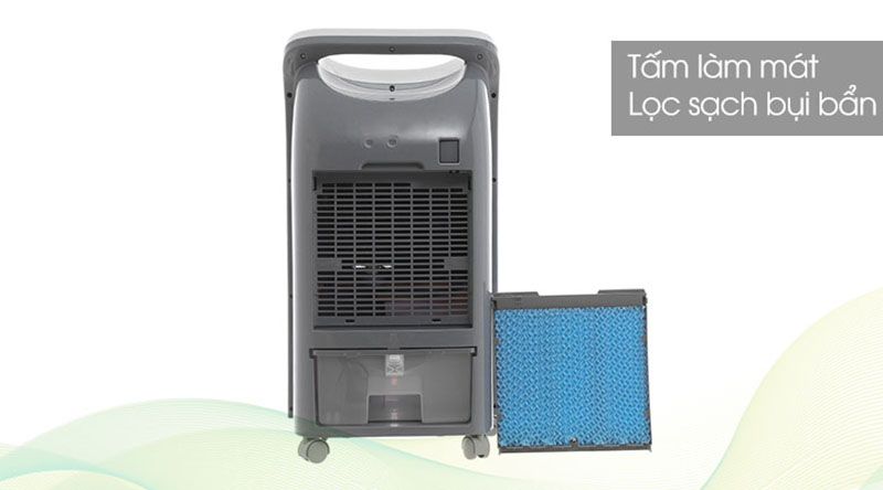 Quạt điều hòa Midea AC100-U bảo vệ sức khỏe