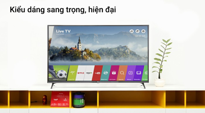 Giới thiệu một số mẫu Smart tivi LG 4K