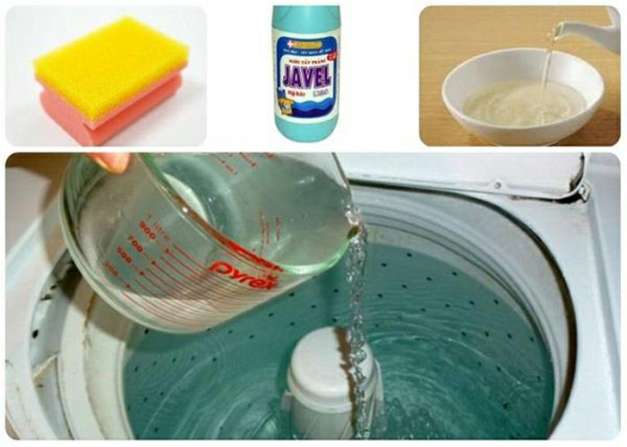 Hướng dẫn cách vệ sinh máy giặt ngay tại nhà