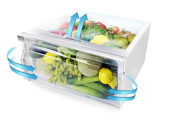 Tủ lạnh Samsung 234 lít RT22FARBDSA tăng cường độ ẩm