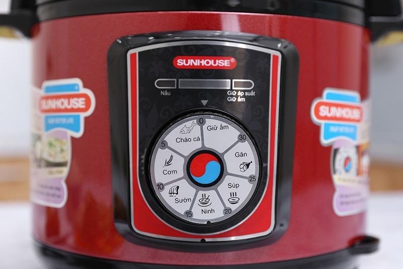 Nồi áp suất Sunhouse SHD-1755 núm vặn