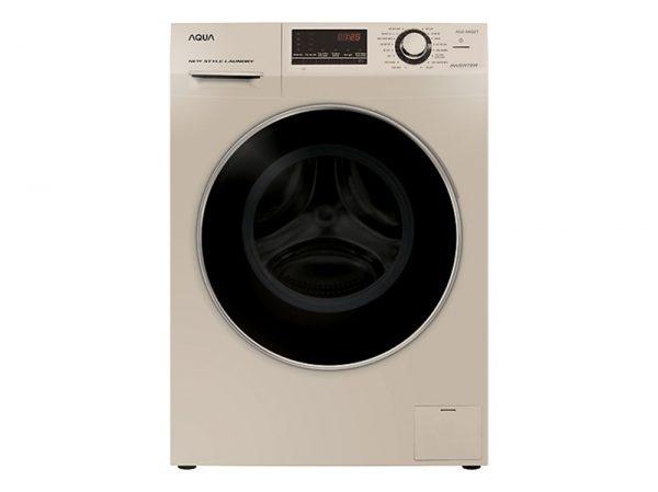 Máy giặt Aqua AQD-A852ZT Inverter 8.5 kg (Vàng đồng)